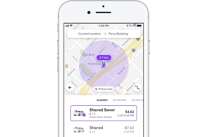 Lyft's low-cost Shared Saver rides come to six more US cities