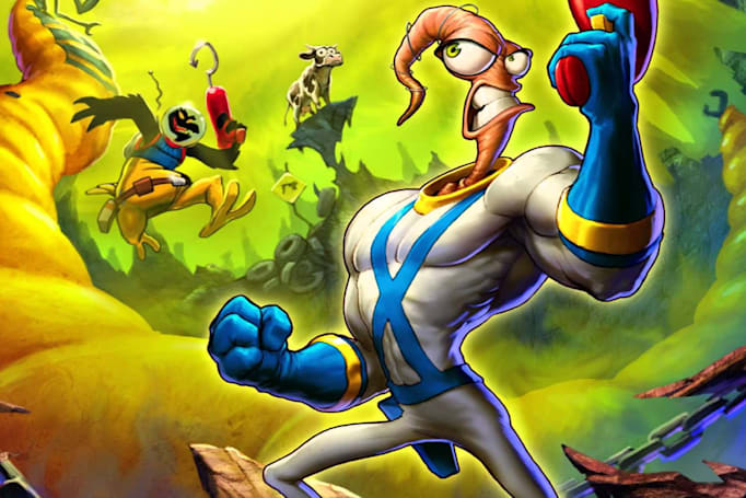 'Earthworm Jim' returns after 20 years as an Intellivision exclusive
