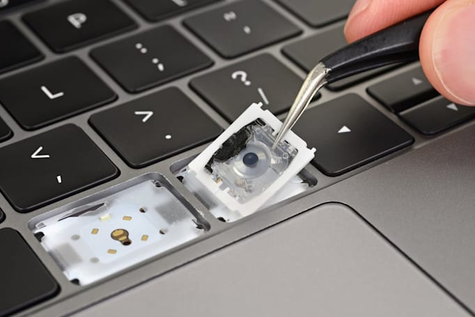 Teardown shows Apple's latest effort to fix MacBook Pro keyboard