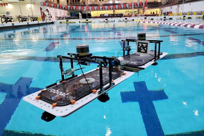 Autonomous 'roboats' can assemble into floating structures