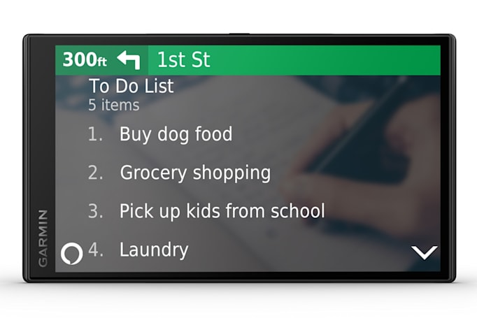 Garmin hopes Alexa will convince you to buy a dedicated GPS