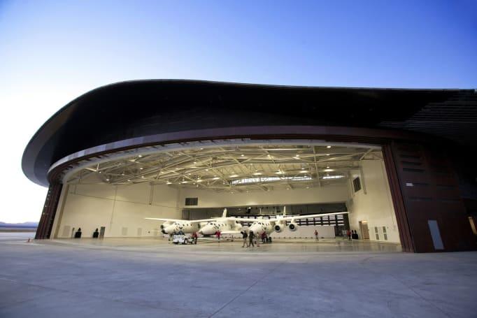 Virgin Galactic's Spaceport America is no longer an empty hangar