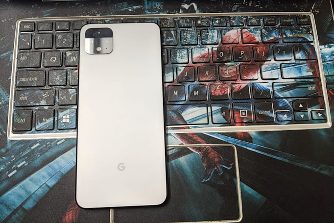 Deluge of Pixel 4 photos confirms a few of the phone's key specs