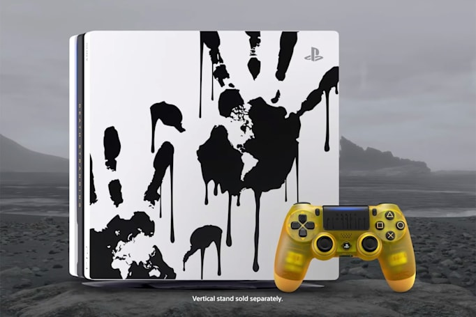 'Death Stranding' PS4 Pro includes a baby pod-inspired controller
