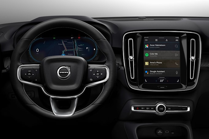 Volvo's electric XC40 will use an Android infotainment system