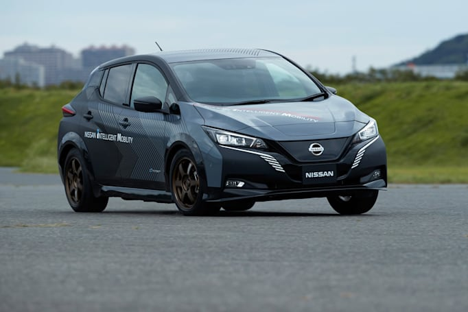 Nissan's dual-motor Leaf test car hints at future EVs