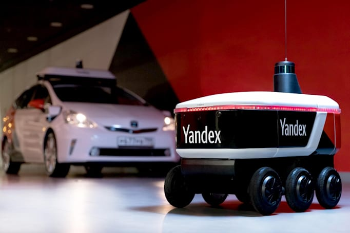 Yandex is testing autonomous delivery robots at its Moscow HQ