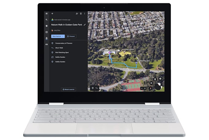Google Earth's new creation tools help you tell stories