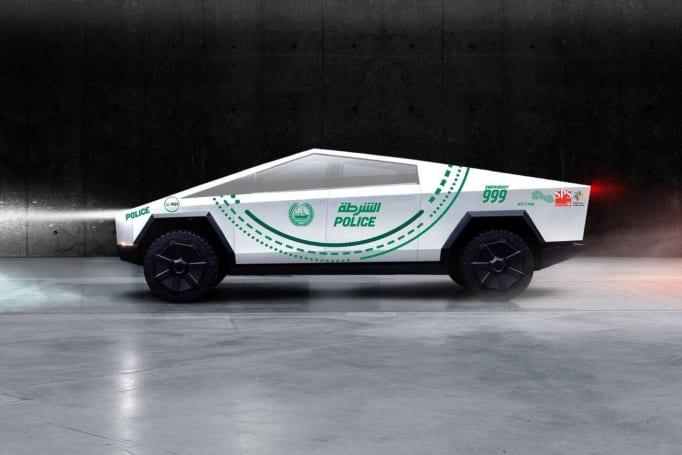 Tesla Cybertruck will join Dubai's eclectic police fleet