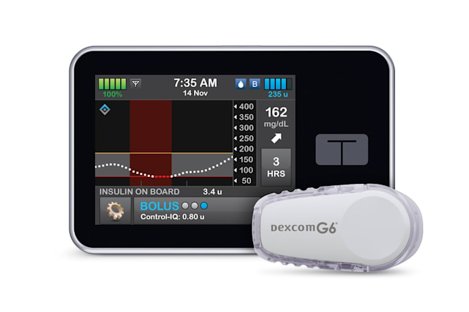 FDA clears an interoperable, automated insulin pump