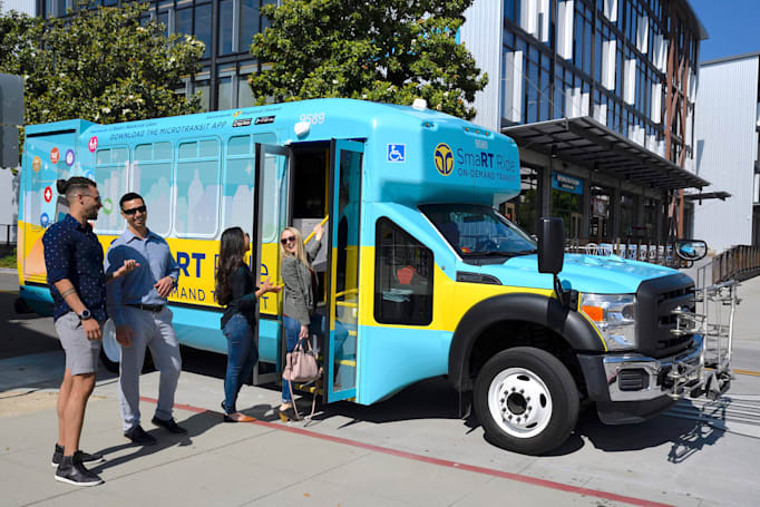 Via's largest on-demand transit service to date launches in Sacramento