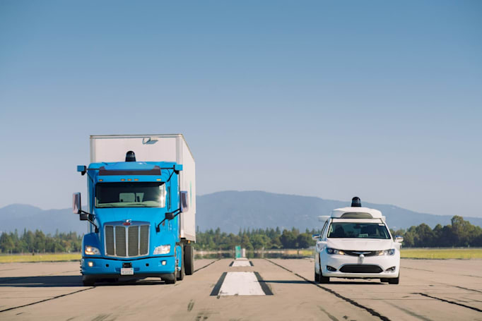 Waymo expands its autonomous big rig tests to Texas and New Mexico