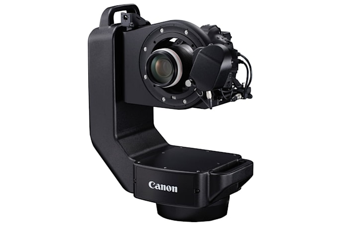 Canon's Robotic Camera System controls multiple DSLRs from afar