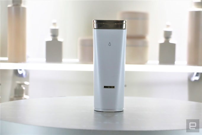 L'Oreal's handheld skincare dispenser doles out custom formula at each press
