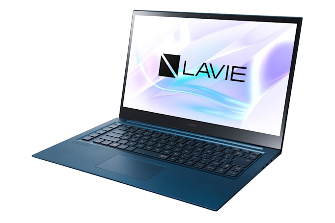 NEC's new PC lineup for the US includes a 4K OLED laptop
