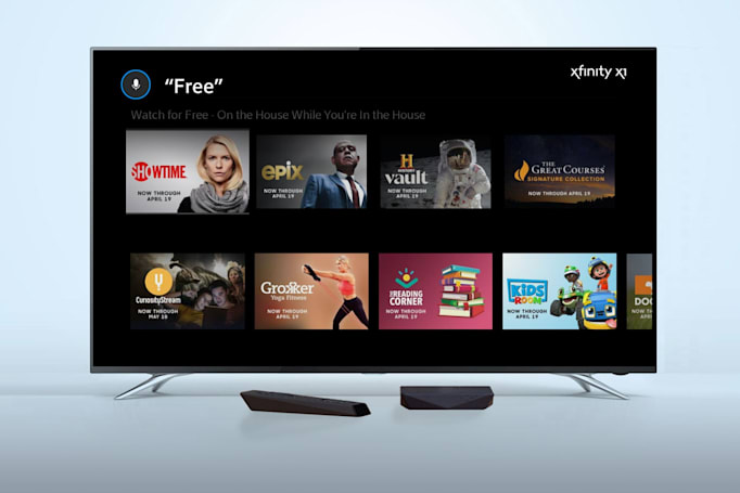 Comcast, Verizon make some on-demand viewing free