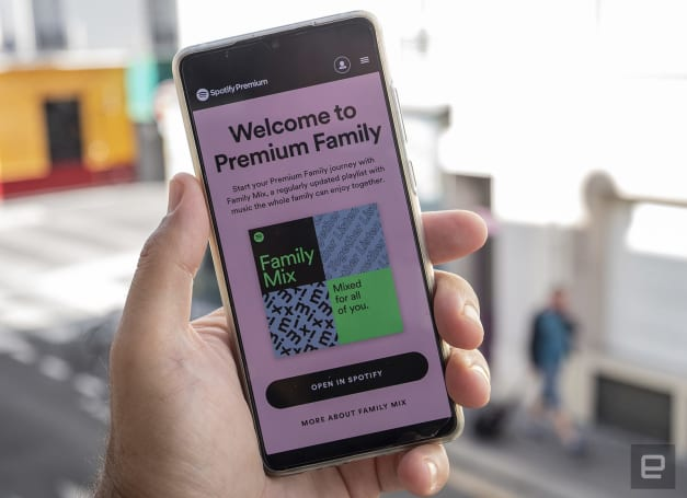 Spotify's Premium Family plans get an explicit content filter