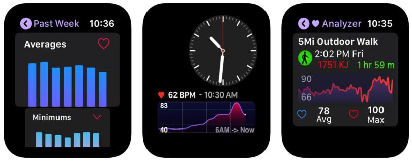 Heart Analyzer's new Apple Watch app puts detailed data on your wrist