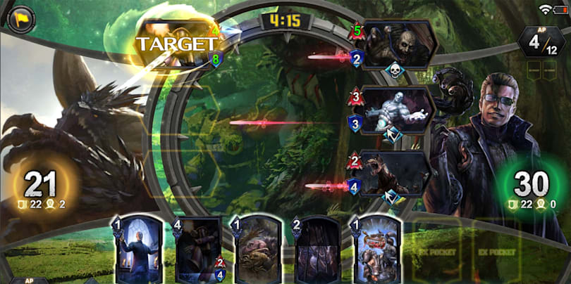 Capcom's 'Teppen' card game pits Chun-Li against Dante