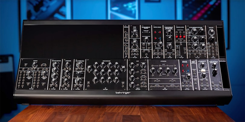 Behringer clones more well-known synths from Moog and Roland