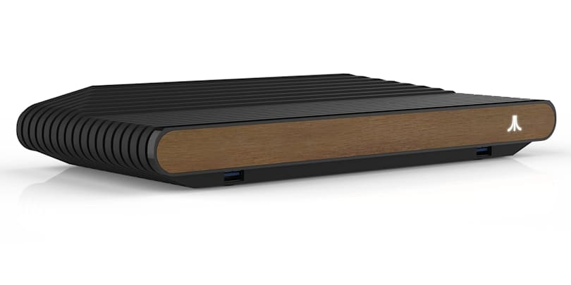 Finished Atari VCS design pays homage to its 2600 roots
