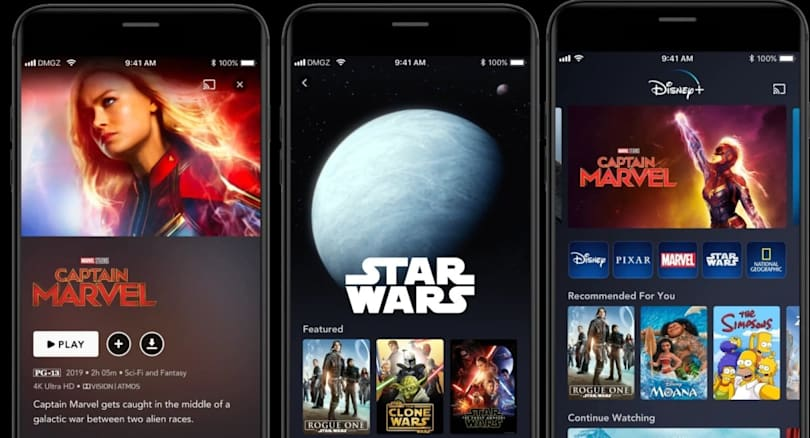 Disney+ will hit the UK and four other European countries March 31st