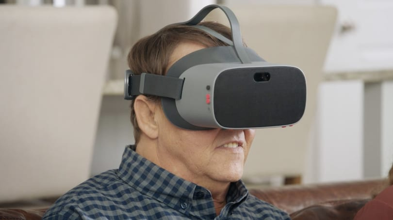 Comcast made a VR version of its Xfinity Stream app for visually impaired users