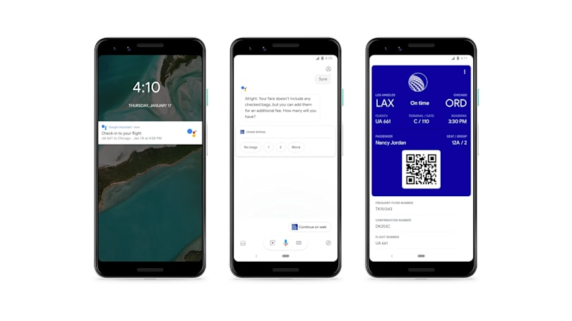 Google Assistant will soon check into your flight for you