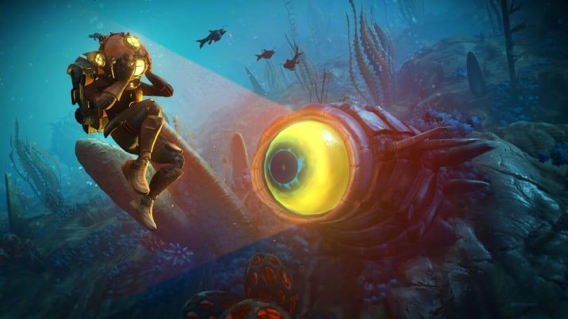 'No Man's Sky' update overhauls underwater exploration