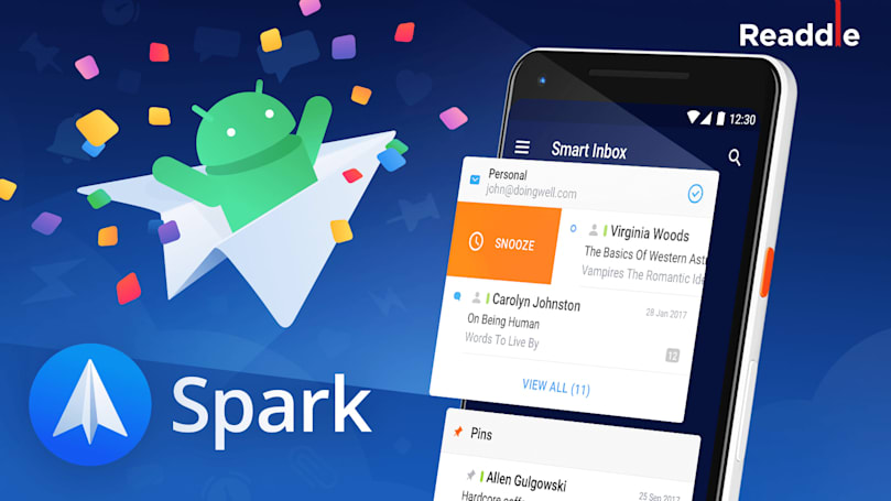 Spark email app debuts on Android as Inbox gets the axe