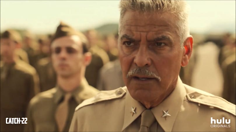 George Clooney's 'Catch 22' premieres May 17th on Hulu