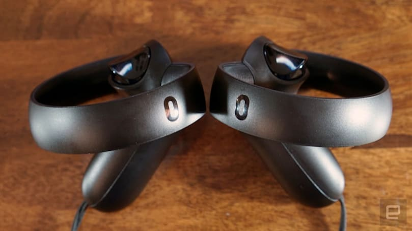Oculus put privacy-mocking jokes inside Touch controllers
