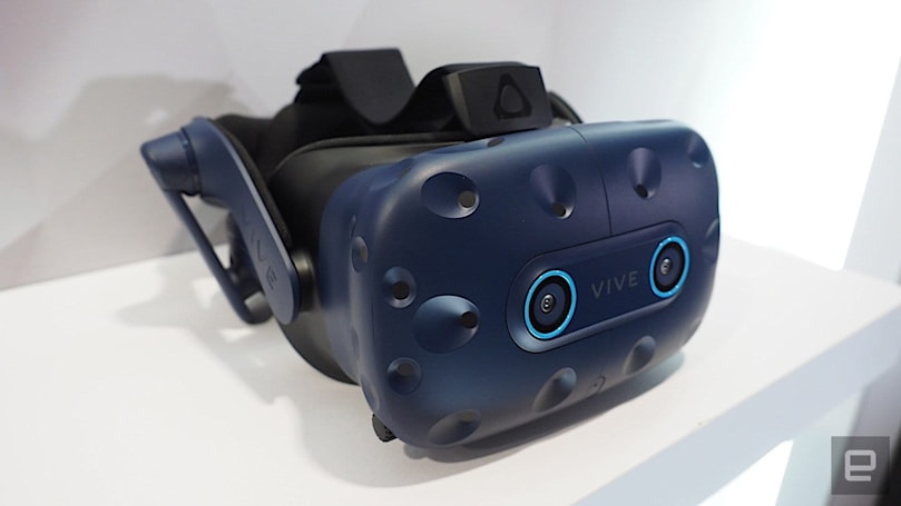 HTC Vive Pro Eye is now out in North America for $1,599