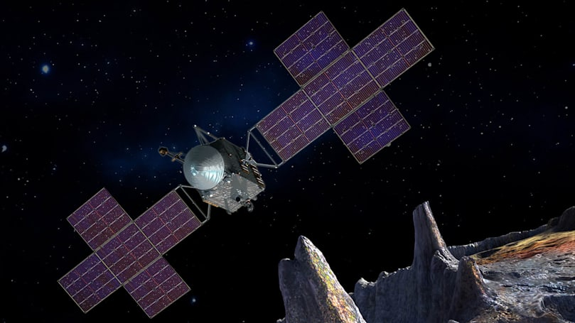 NASA makes final plans for its 2022 mission to visit an all-metal asteroid