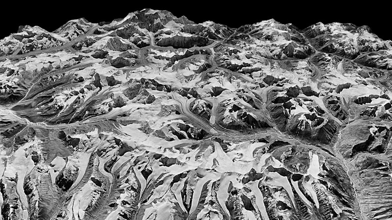 Decades of spy satellite images help track melting Himalayan glaciers