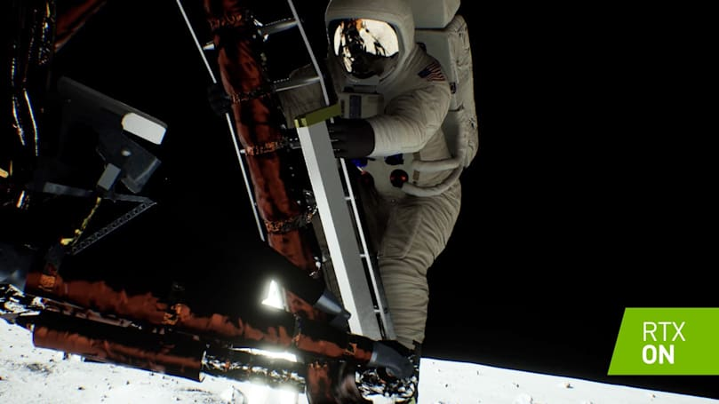 NVIDIA revamps Moon landing recreation in time for Apollo 11's 50th