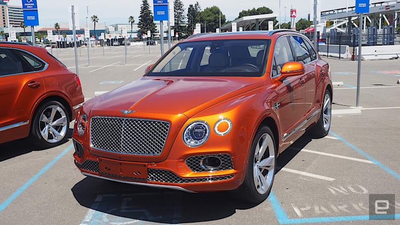 The Bentley Bentayga Hybrid is a stately but uninspiring ride