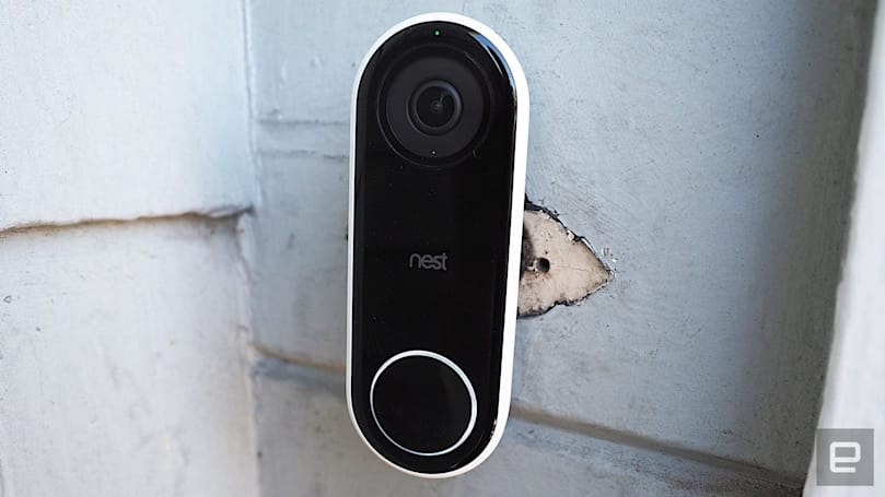 Google's Nest doorbell knows when your packages arrive