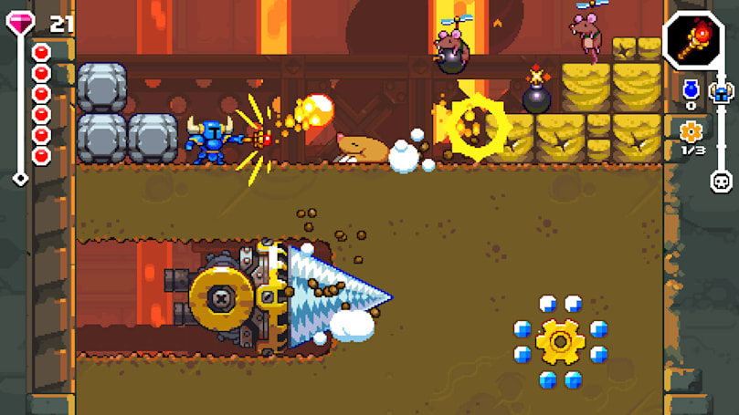 'Shovel Knight Dig' takes the adventure underground