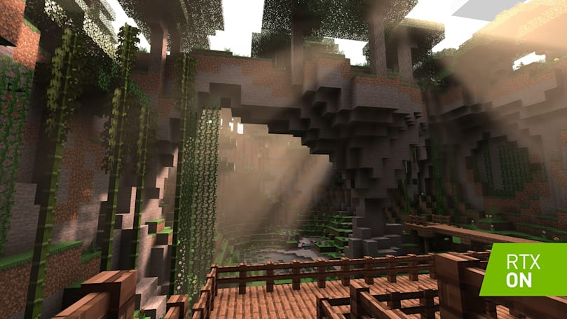 NVIDIA ray-tracing on 'Minecraft' looks surprisingly cool
