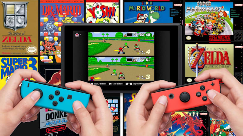 20 SNES games are coming to Nintendo Switch tomorrow