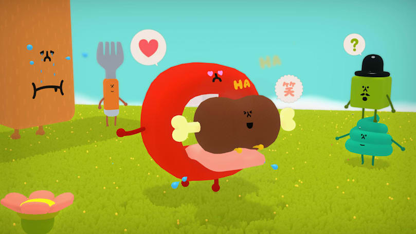 Katamari creator's friend-making game 'Wattam' arrives December 17th