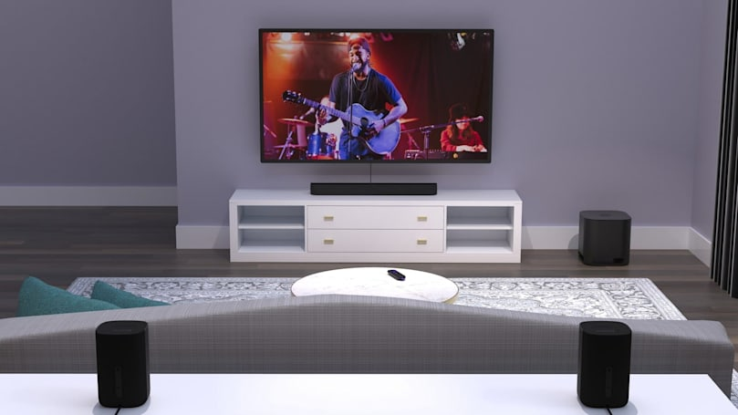 Roku's speakers can finally turn into a surround sound system