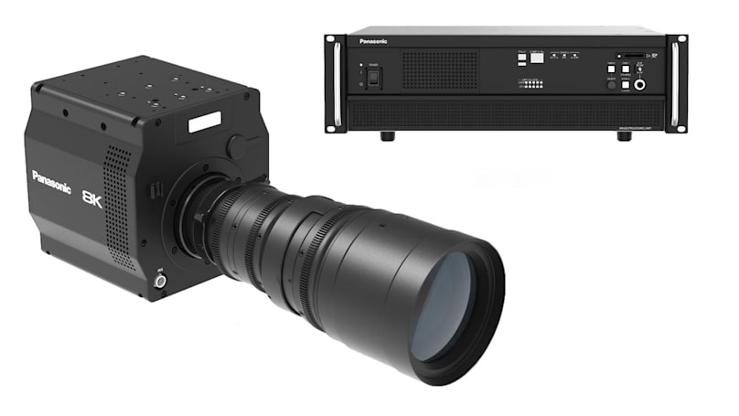 Panasonic unveils the first 8K camera with an 'organic' sensor