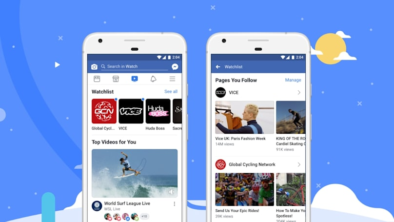 Facebook says its Watch videos reach 720 million viewers a month