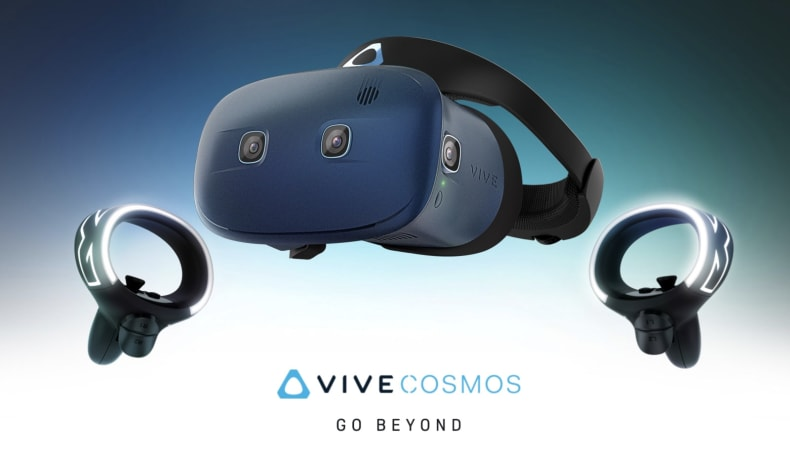 HTC shows off Vive Cosmos VR controllers in a new video
