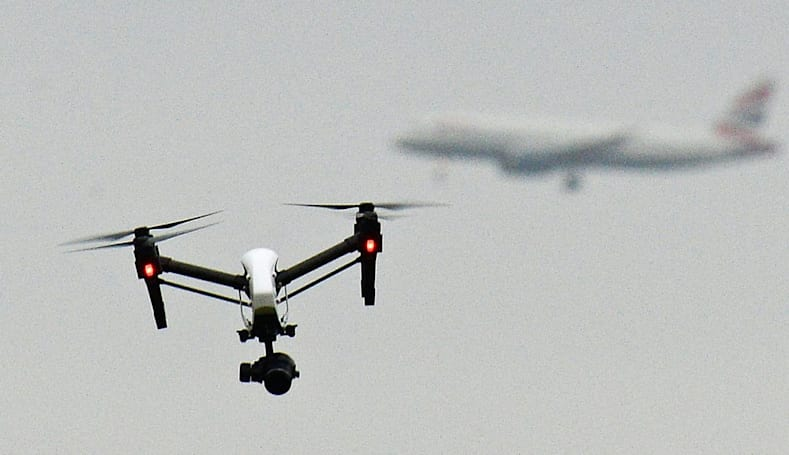 Drones cause holiday chaos at one of London's busiest airports (updated)