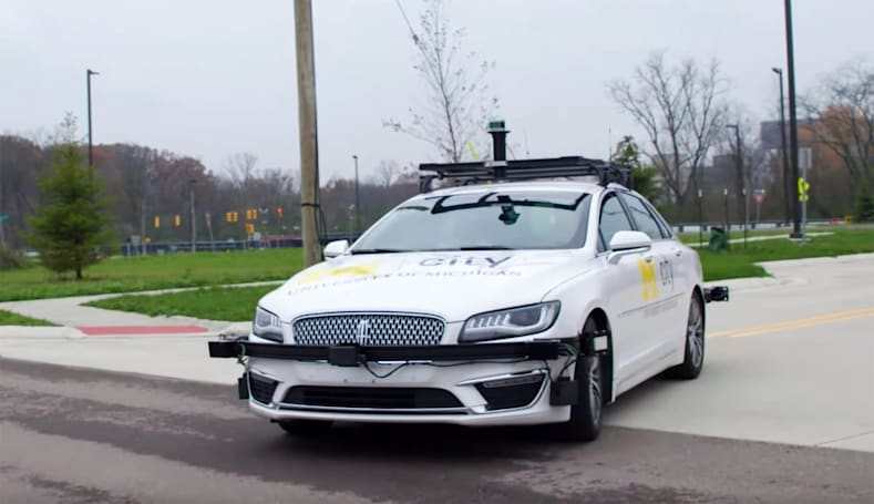 University of Michigan's self-driving car lab now runs on Verizon 5G