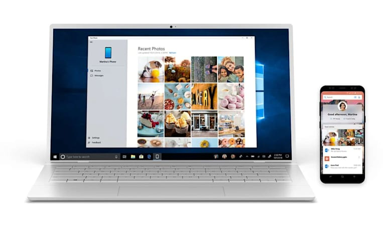 Microsoft's 'Your Phone' screen mirroring app is down