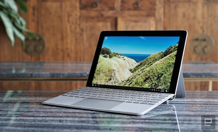 Microsoft's Surface Go with LTE will be available November 20th